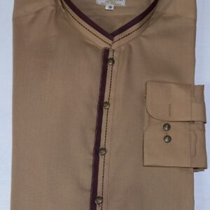 brown Kurta Shalwar
