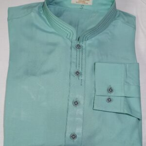 Blue Green Kurta Shalwar